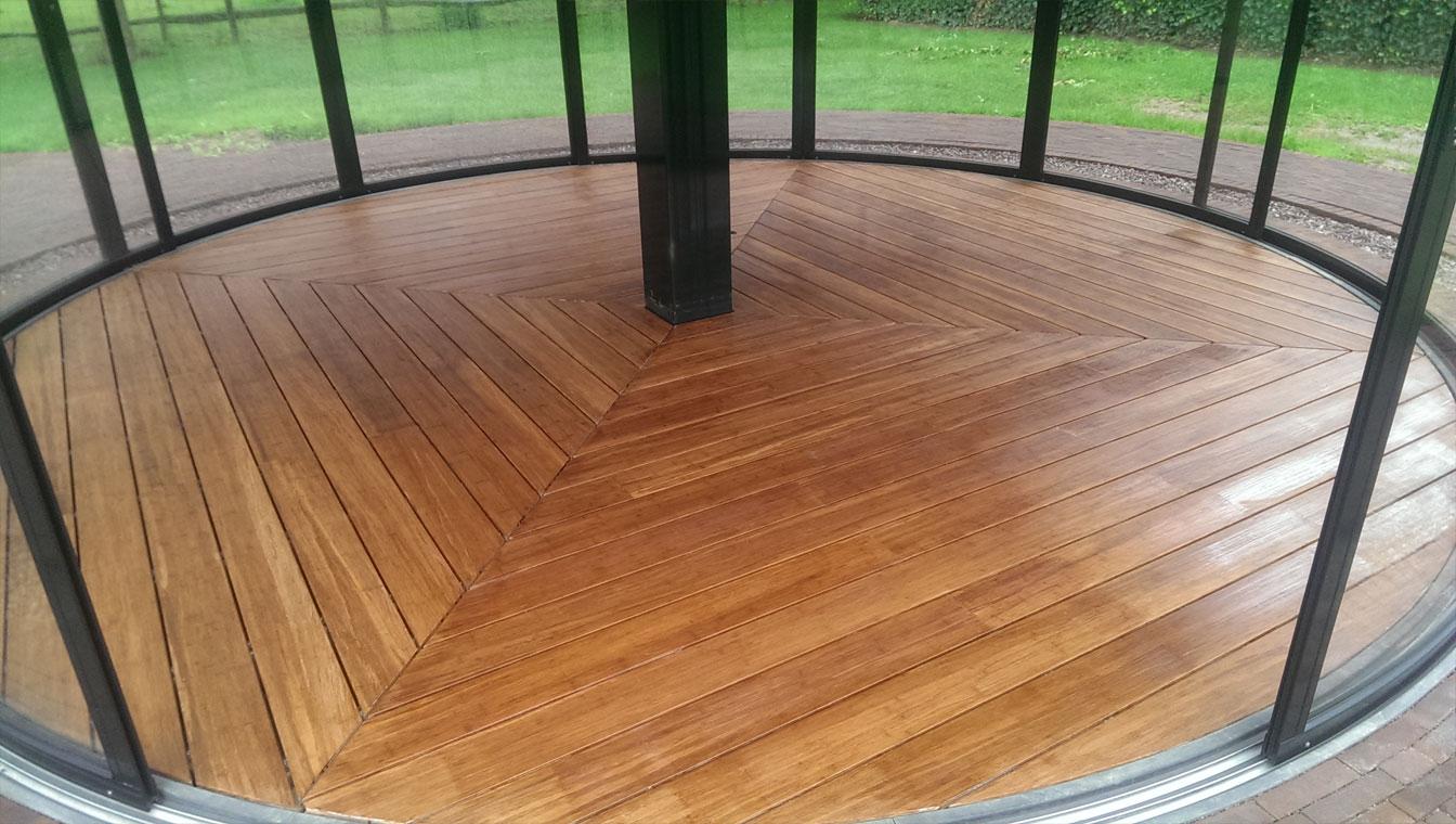rond-terrasvloer